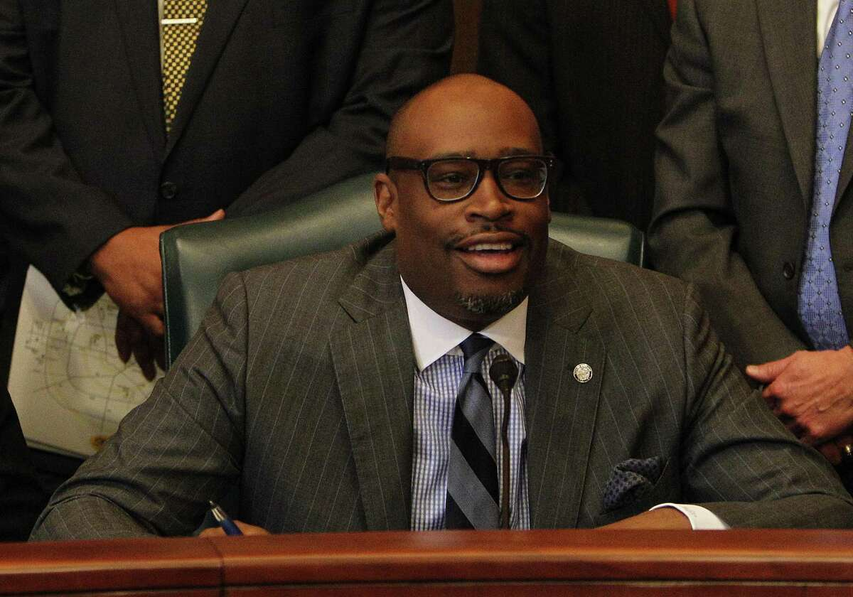 Houston City Councilman Larry Green died suddenly on March 6, leaving a vacancy behind the horseshoe-shaped table in city council chambers. Nine candidates are running in a special election to fill his seat.