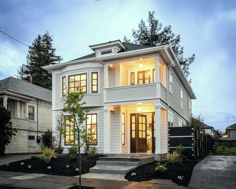 A fully reimagined Oakland home at 661 62nd St. is listed for $1.379 million. Photo: Scott Hargis