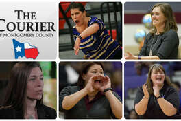 Tricia Mize (New Caney), Deidre Vasquez (Oak Ridge), Audra May (Legacy Prep), Sarah Simmons (Magnolia West) and Angel Kelley (Willis) are The Courier's nominees for All-County Coach of the Year.