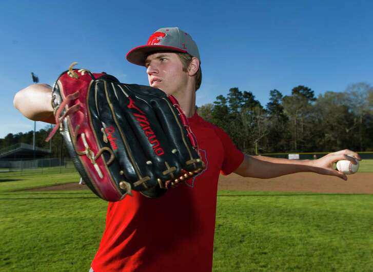 Splendora lefty pitcher Dylan Johnson threw back-to-back no hitters against Beaumont West Brook and Baytown Lee totaling 33 strikeouts while allowing four walks through 14 innings.