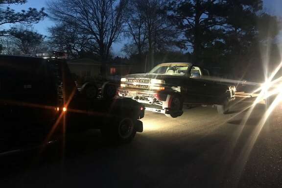 When Montgomery County Precinct 5 Constable's Deputies arrived, they were able to locate two stolen trailers and information to where two stolen pickup trucks were being stored.