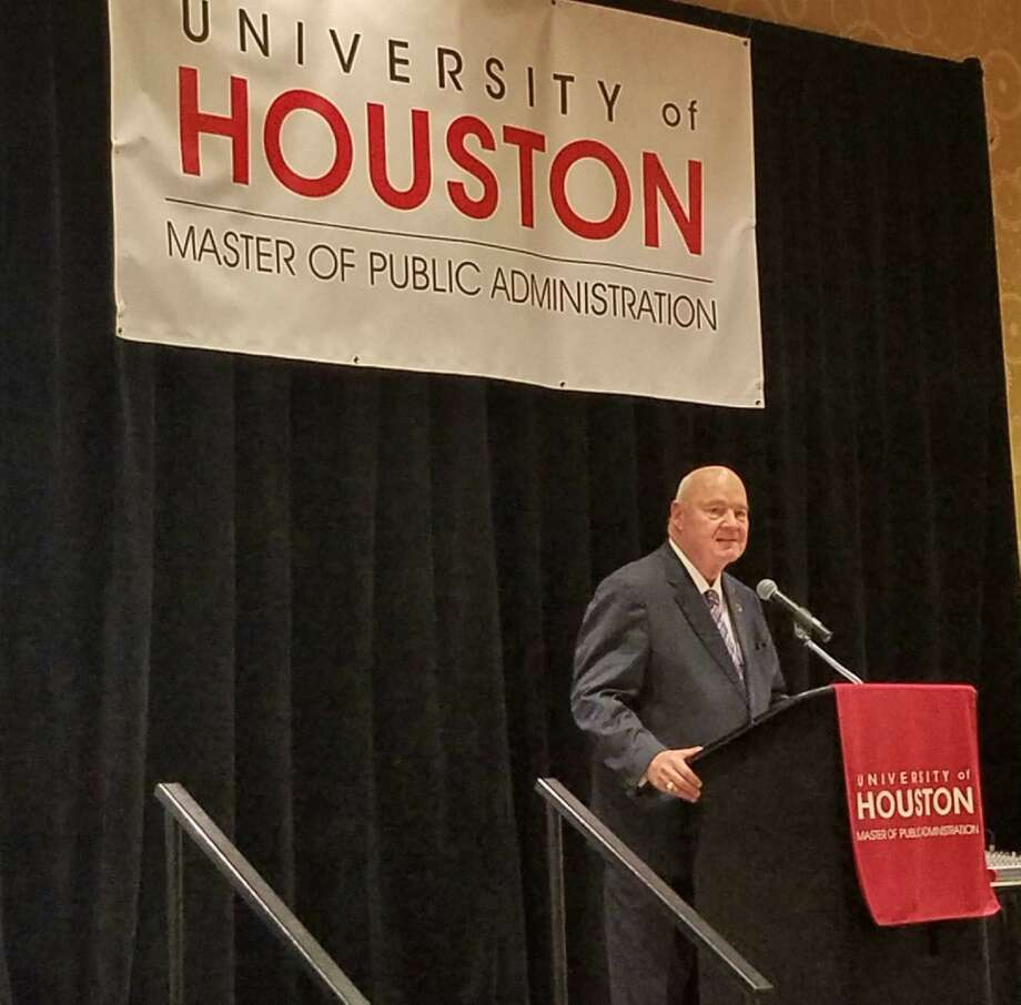 Fort Bend County Judge Bob Hebert was recently named the University of Houston Master of Public Administration Program's Public Official of the Year award for 2018. Photo: Courtesy Photo