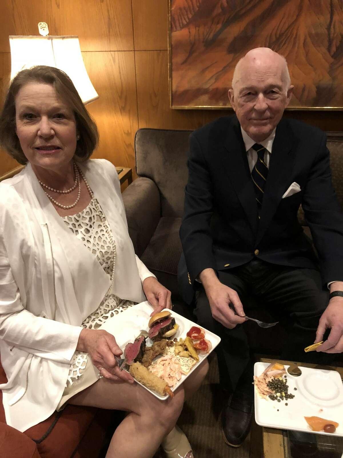 Petroleum Club: Liz and Nick Taylor