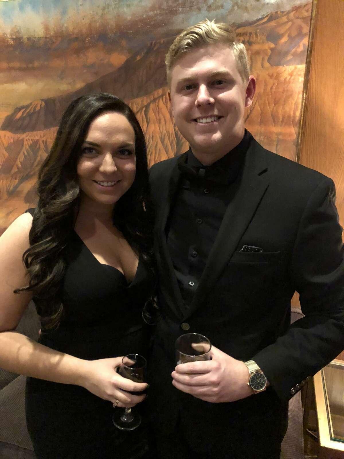 Petroleum Club: Sarah and Ethan Glidewell