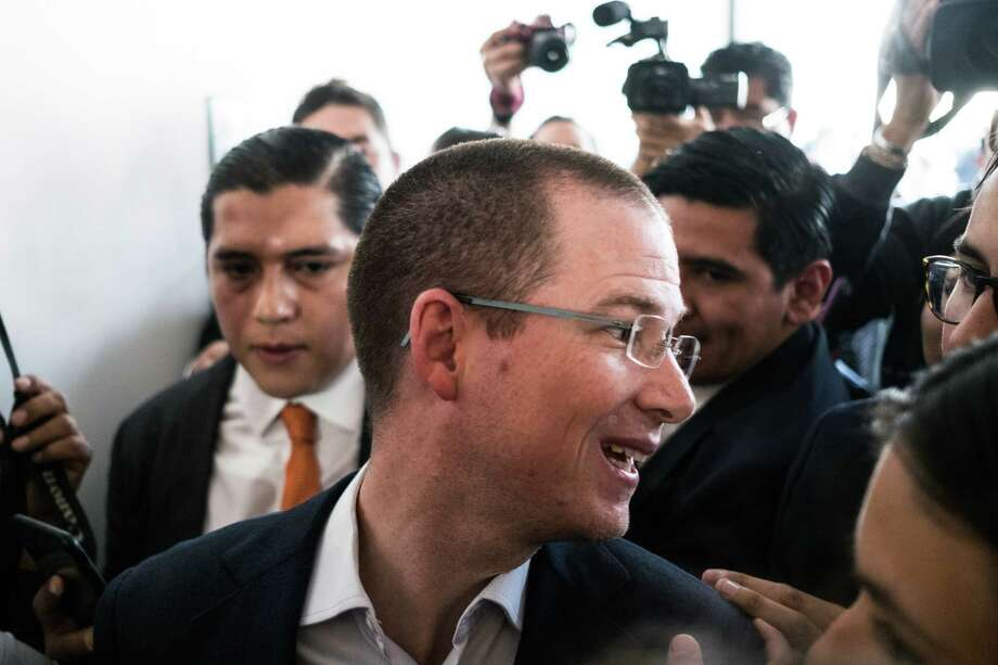 Ricardo Anaya, The National Action Party (PAN) presidential candidate, in La Martinica, Mexico, on March 1, 2018. Photo: Bloomberg Photo By Mauricio Palos. / © 2018 Bloomberg Finance LP