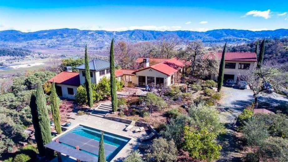 The Topel Winery with vineyards in Hopland, CA, is now on the market for $5.4 million Photo: Realtor.com