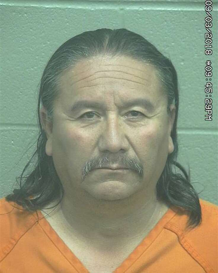 Sixto Medrano Jr., 52, was arrested March 8 after he allegedly recklessly caused injury to a woman, according to court documents. Photo: Midland County Sheriff's Office