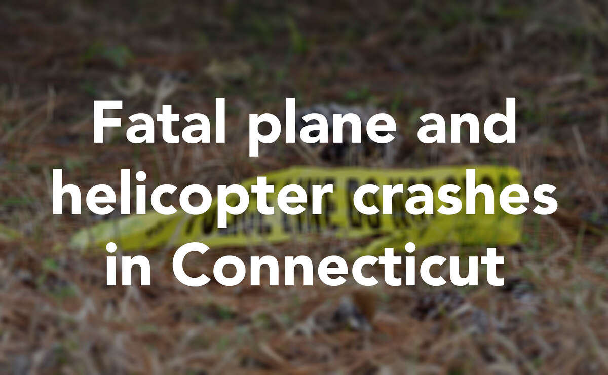 Here's an overview of some of the plane and helicopter crashes that Connecticut has seen in recent years.
