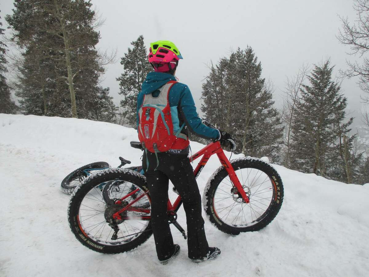 Fat tire biking is fun year-round, especially in the snow, with Breck Bike Guides.