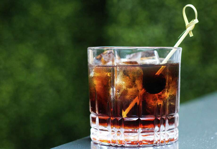 Bayou & Bottle's Dr Pepper Old Fashioned marries Rittenhouse Rye with a Dr Pepper syrup. Photo: Courtesy Photo