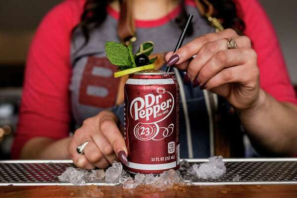 BCK's Dr. Feelgood is made with Jack Daniels Rye and a house-made Dr Pepper syrup.