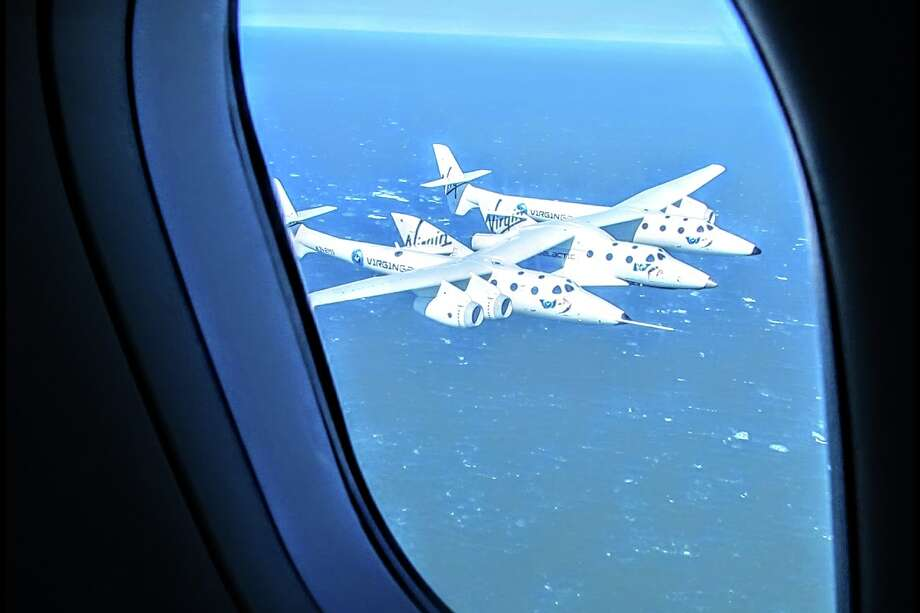 Peering out at Virgin Galactic over the Farallons near San Francisco (2011) Photo: Chris McGinnis
