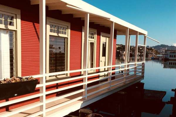 A historic craft known as the Mayflower Ark was placed on pilings in Sausalito in 1925 and after an extensive renovation is now on the market for $795.00 .