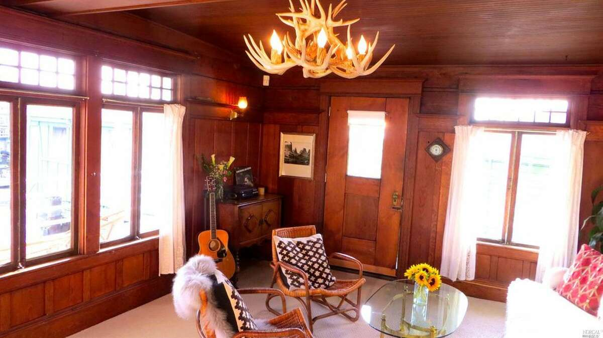 A historic craft known as the Mayflower Ark was placed on pilings in Sausalito in 1925 and after an extensive renovation is now on the market for $795,000.