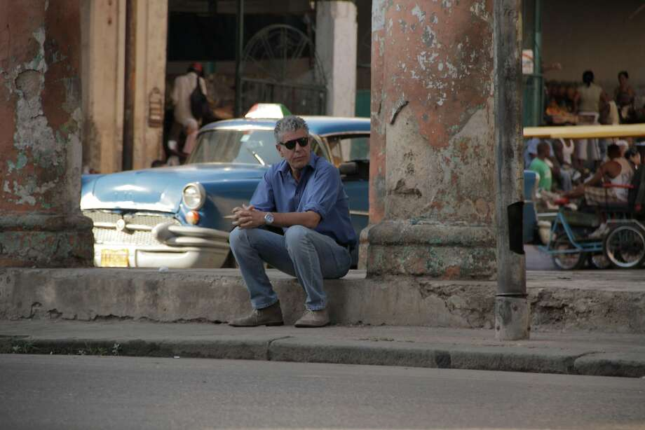 Anthony Bourdain, the internationally acclaimed author and host of the Travel Channelís ìNo Reservations,î will be at The Palace Theater in Waterbury,Tuesday, Oct. 25. Photo: Contributed Photo