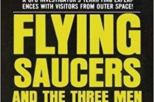 "Bridgeport's Albert K. Bender originated the term ""Men in Black"" in the 1950s. He wrote the book ""Fling Saucers and the Three Men."""
