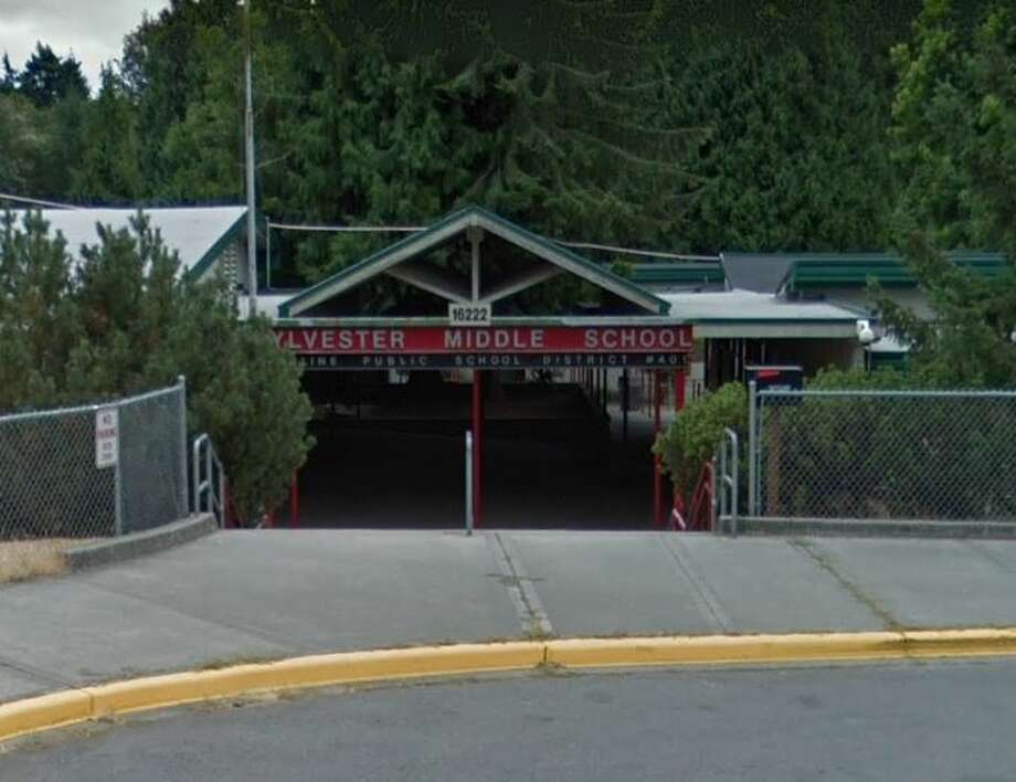 A 15-year-old student was arrested after allegedly bringing a gun to Burien's Sylvester Middle School Monday morning, according to the King County Sheriff's Office. Photo: Google Maps