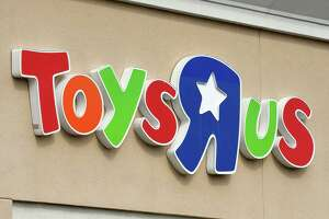Exterior sign on the Wolf Rd. Toys R Us store  on Monday, March 12, 2018, in Colonie, N.Y. (Will Waldron/Times Union)