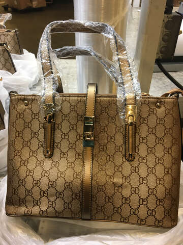 Check out the counterfeit goods confiscated in Houston