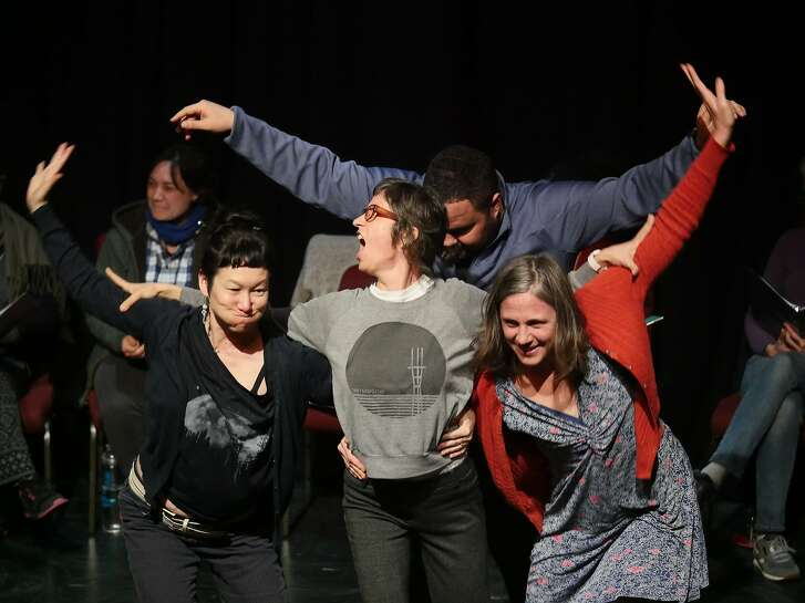 """""""Iron Shoes"""" is a production in�collaboration between Shotgun Players and Kitka Women�s Vocal Ensemble."""