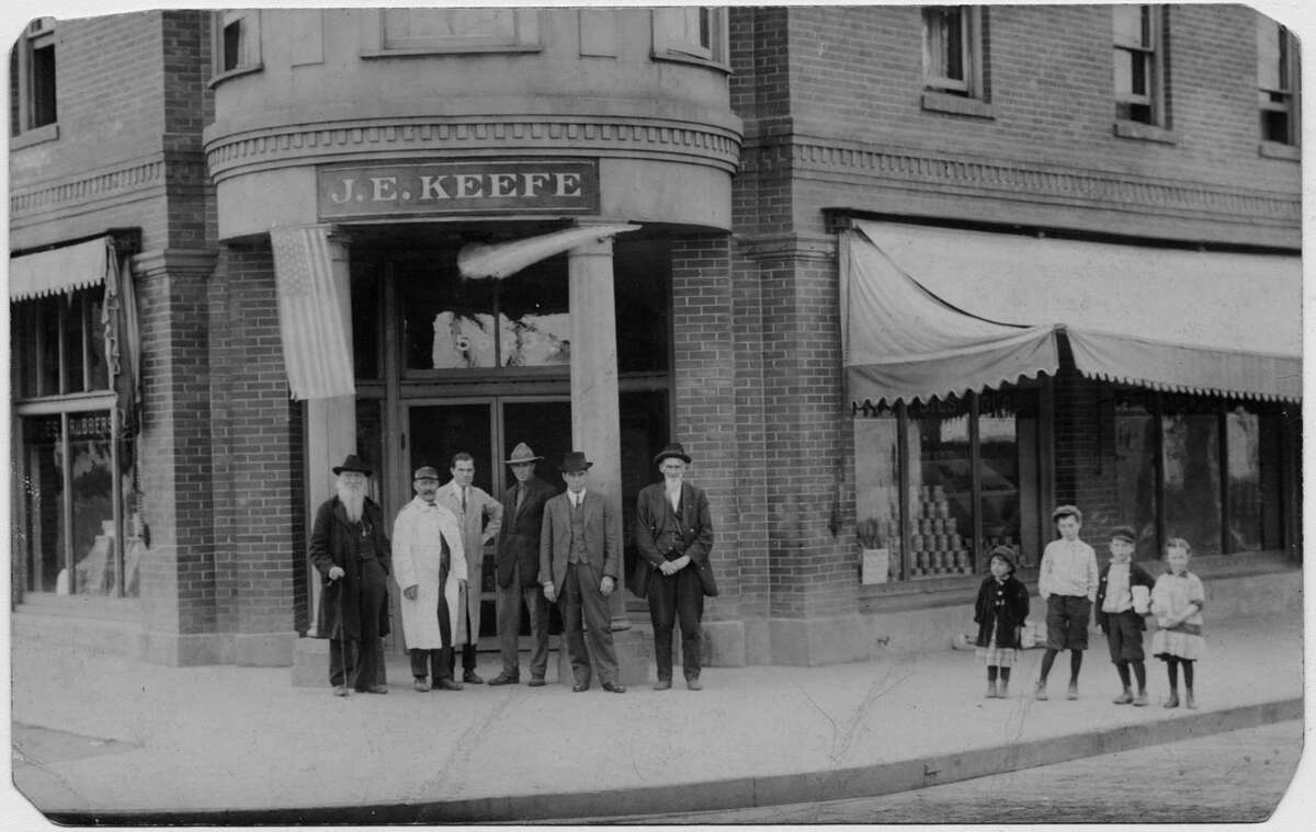 Keefe Grocery, Hillman City, 1906 Courtesy of the Rainier Valley Historical Society