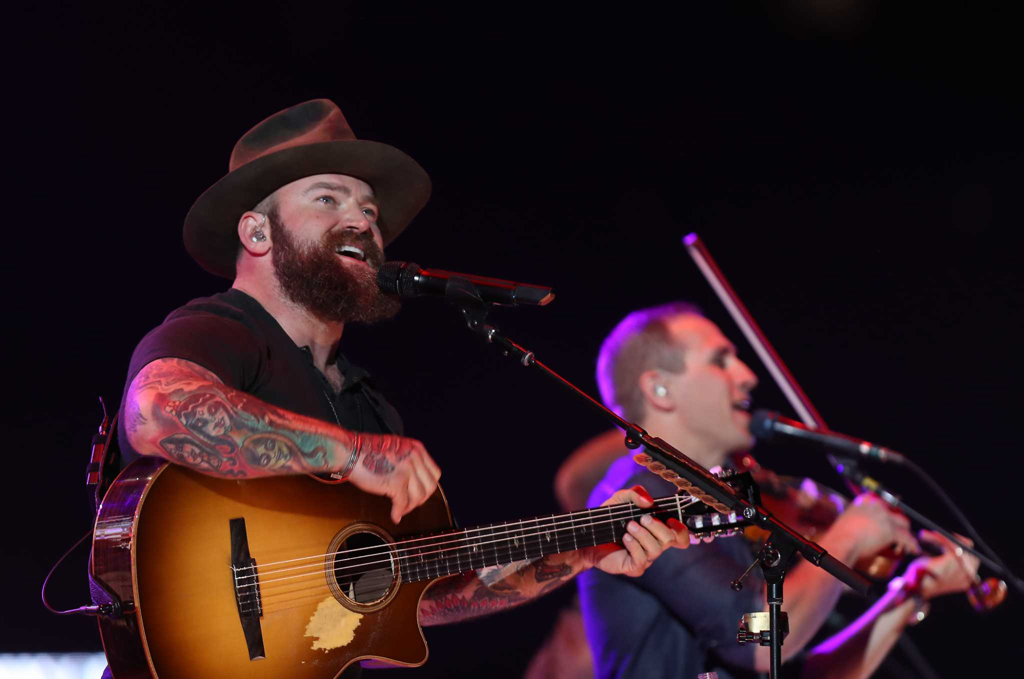 Zac Brown Band brings perfect harmonies and a perfect beard to RodeoHouston