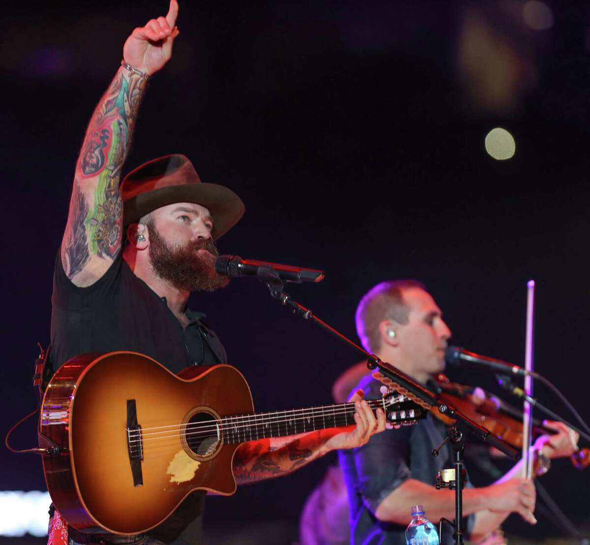 Zac Brown of the Zac Brown Band performs at Rodeo Houston Monday, March 12, 2018, in Houston.