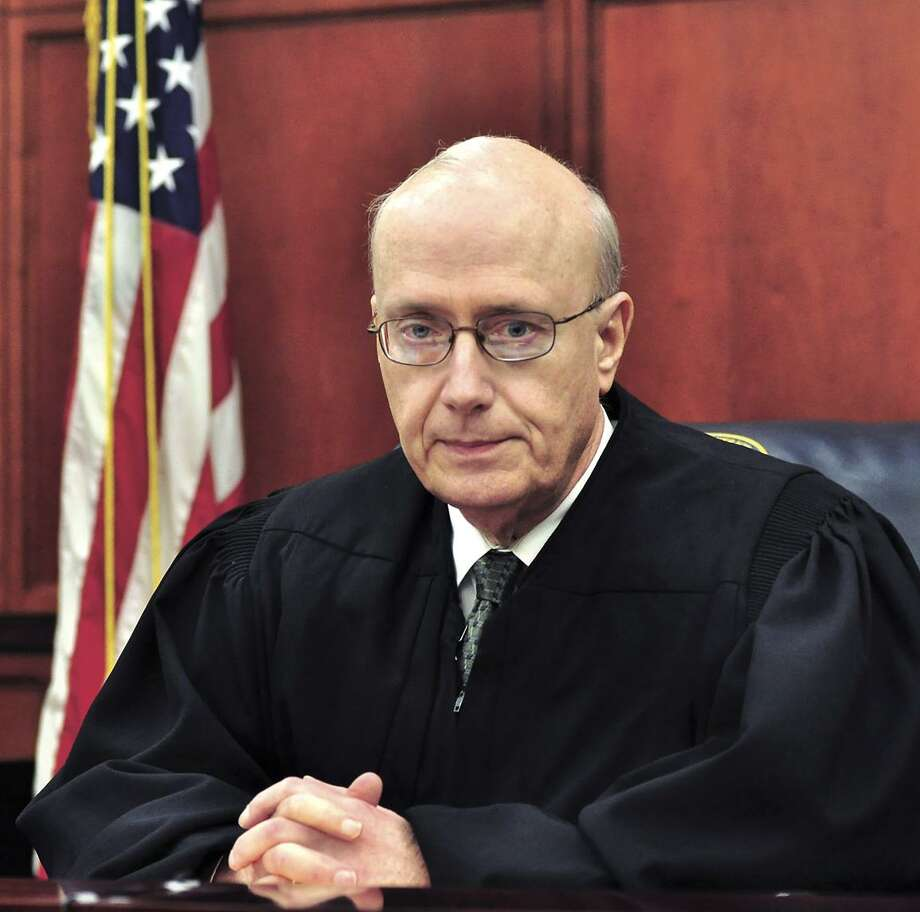Senior Federal Judge George P. Kazen is shown in his courtroom in this file photo Photo: Cuate Santos /LMT / FILE PHOTO