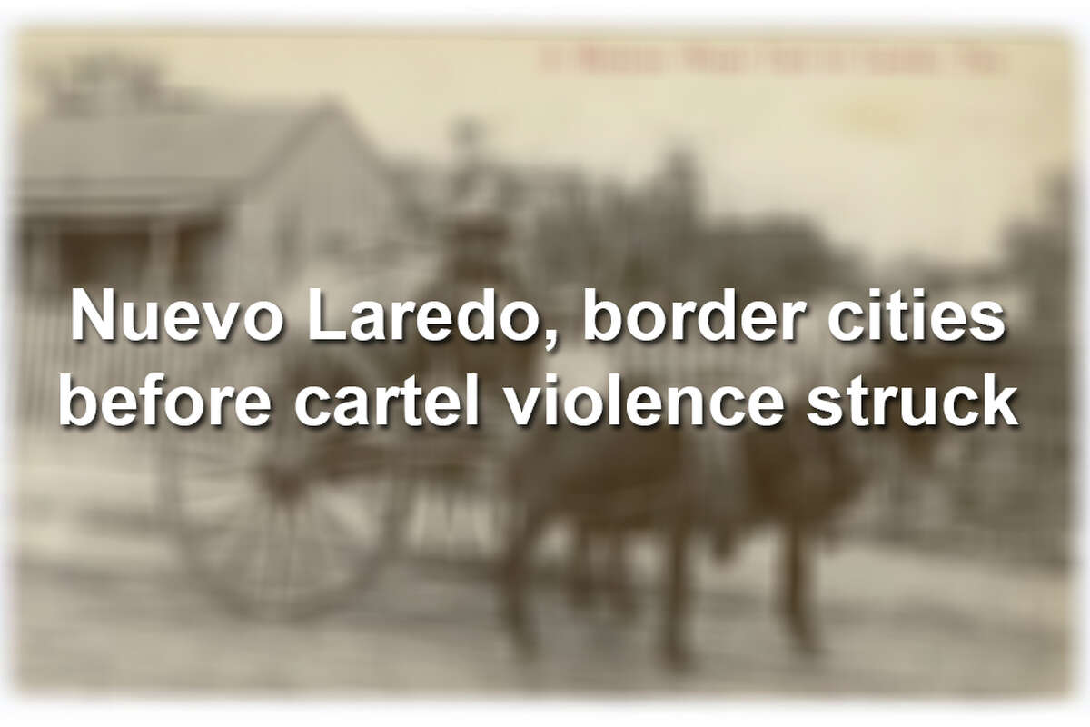 Vintage photos show life in Nuevo Laredo and border cities before cartel violence.