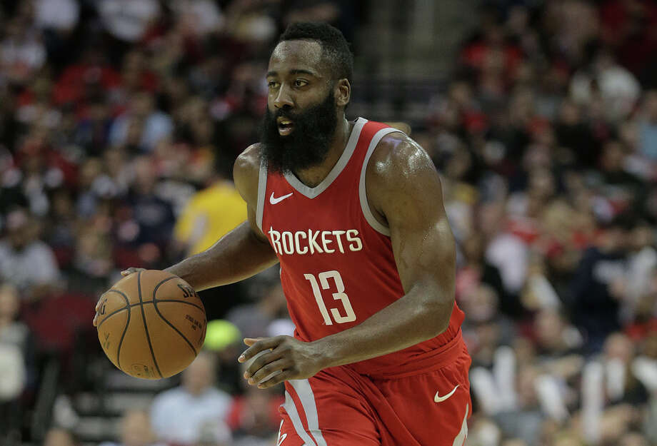 Houston Rockets guard James Harden (13) drives the ball across court in the second half of game action against the Toyota Center on Monday, March 12, 2018, in Houston. Rockets won the game 109-93. ( Elizabeth Conley / Houston Chronicle ) Photo: Elizabeth Conley/Houston Chronicle