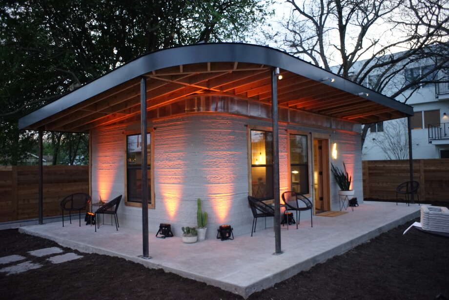 Austin-based company ICON is looking to make housing more universally accessible by 3-D printing homes. Photo: ICON Handout