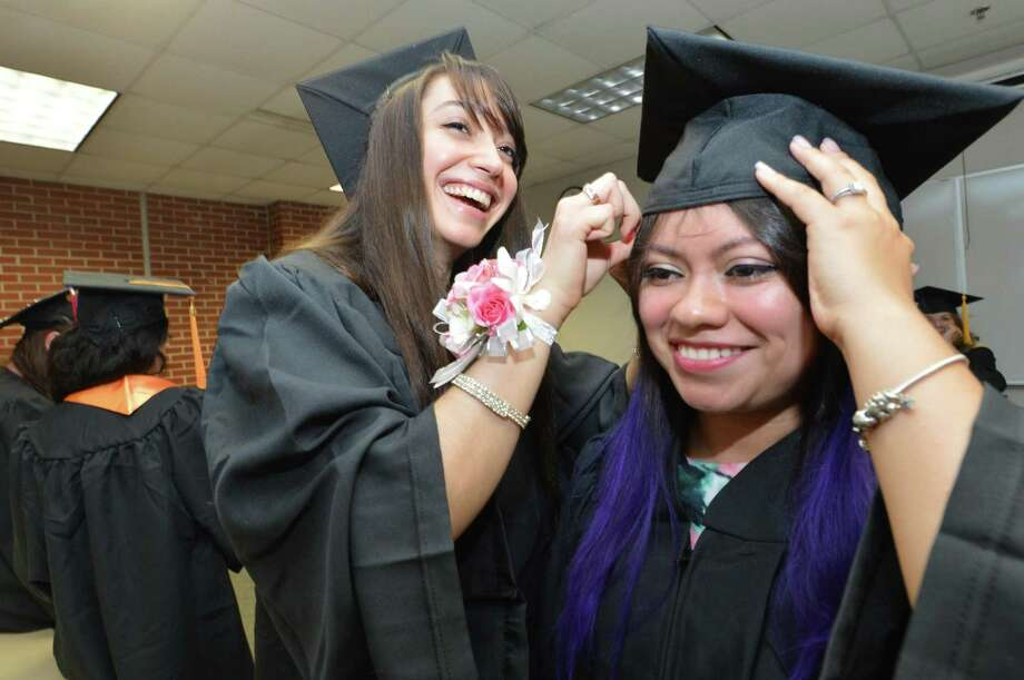 Norwalk Community College will host its 56th annual commencement exercises at a new off-campus location this year at 4:30 p.m. on May 17. Photo: Alex Von Kleydorff / Hearst Connecticut Media / Norwalk Hour