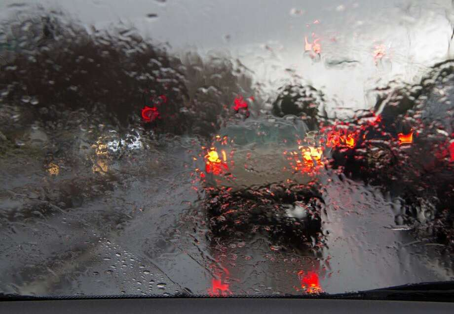 Morning rain is leading to slippery conditions on Bay Area Roadways. Photo: CHP Dublin