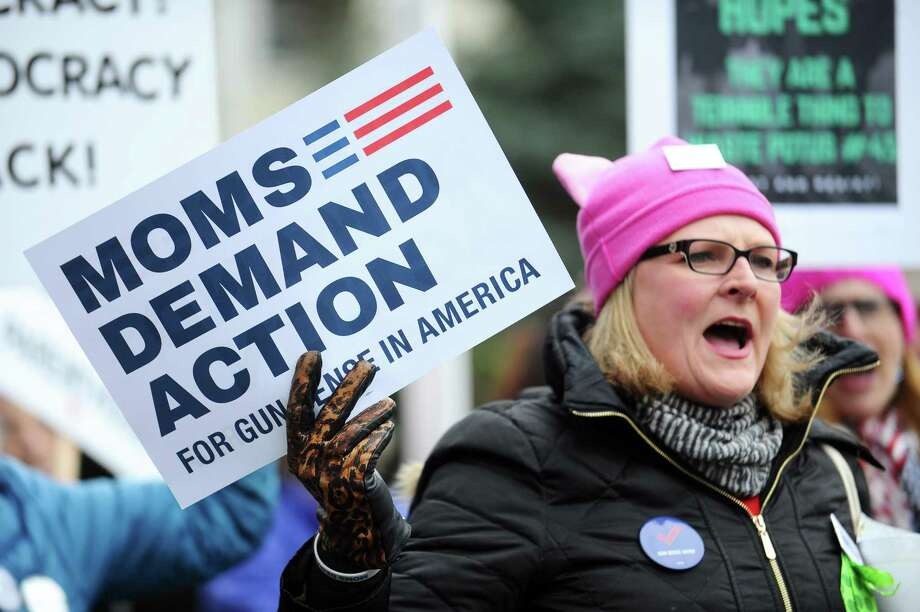 Moms Demand Action, a national organization organizing for gun reform, is hosting its first meeting in Norwalk at at 2 p.m. on Saturday. Photo: Michael Cummo / Hearst Connecticut Media / Stamford Advocate