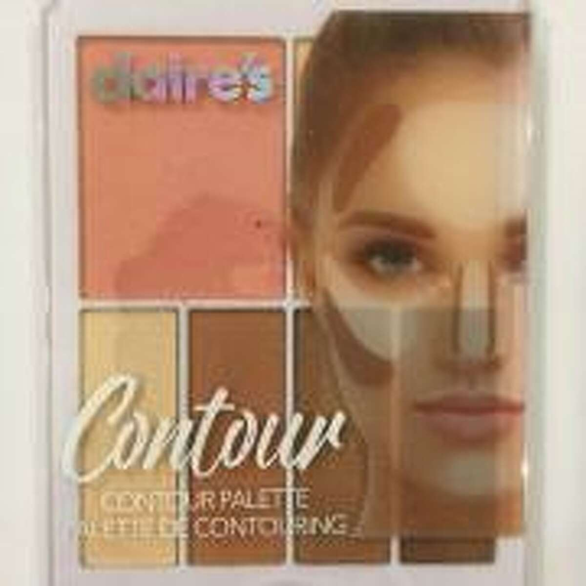 A consumer group claims that independent lab tests confirm that three makeup products found for sale at the Claire?'s retail chain are contaminated with asbestos.