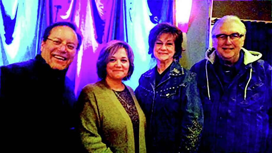 From left, Todd Gross, Patricia Gross, Betty Wolf and Gene Wolf. Their 144 Entertainment and Sharity Productions have teamed up to produce the Conroe Country Music Opry. The first opry will be June 2 at the Owen Theatre in downtown Conroe.