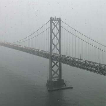 Bay Area's wet weather starts heavy, expected to continue