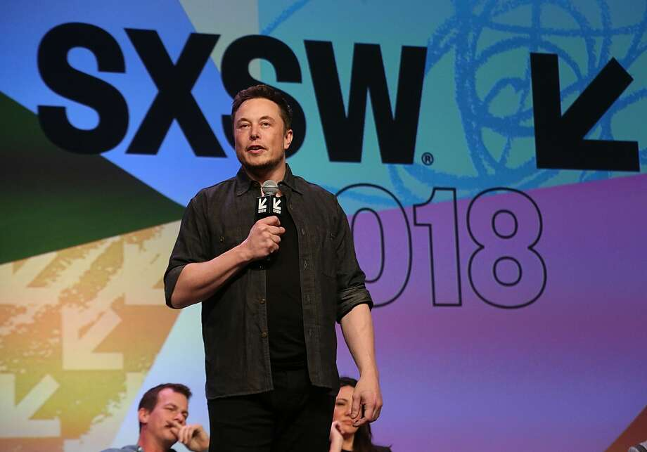 Elon Musk speaks on stage during the Westworld Featured Session during SXSW on March 10.Tesla shareholders on Wednesday approved a pay package for Elon Musk that could net him more than $55 billion over the next decade. Photo: FilmMagic/FilmMagic For HBO