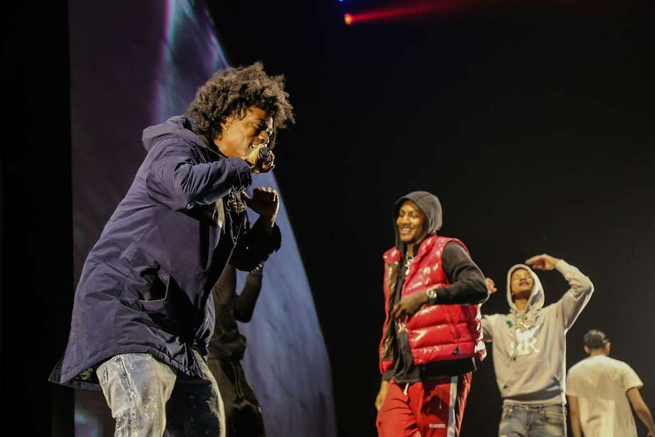 SOB x RBE at the Rolling Loud Festival at San Bernardino's NOS Events Center in December. Photo: Hannia Bekhit