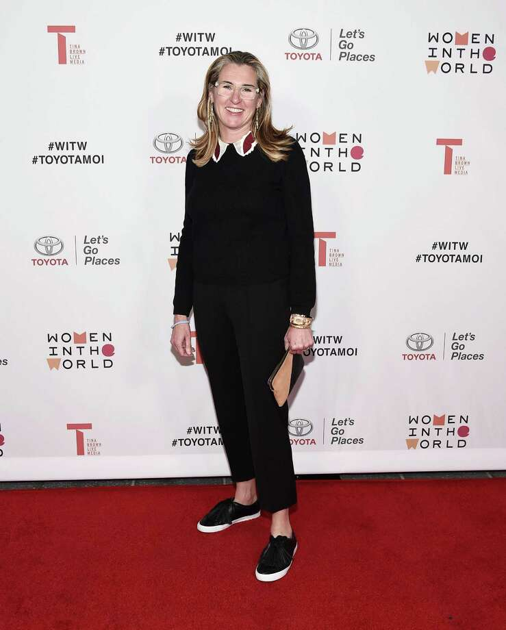 Nancy Dubuc, who announced Monday that she was stepping down as chief executive of A&E Networks, is reportedly taking over as CEO at Vice Media. Outgoing CEO Shane Smith is expected to remain on, possibly as chairman, the New York Times reported. Photo: Amanda Edwards /Getty Images / 2018 Getty Images