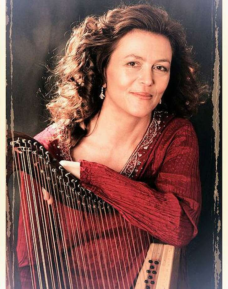 "Zoe Vandermeer will perform ""Journey of the Irish Harp"" March 18 at Trinity Episcopal Church in Portland. Photo: /"