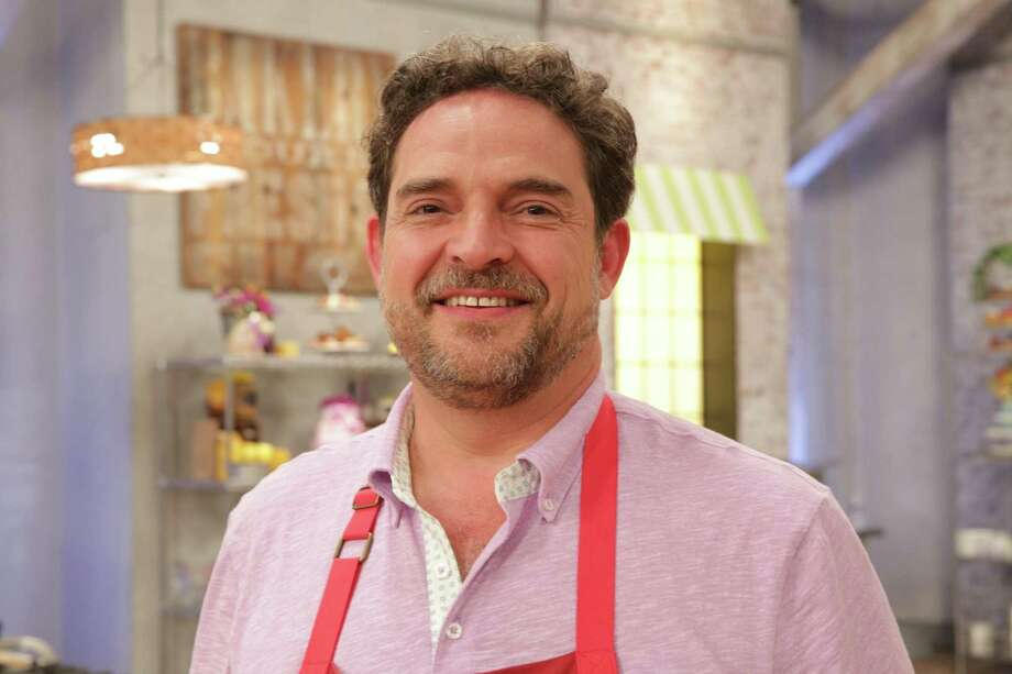 """Chef Nacho Aguirre of San Antonio nailed the geode cake challenge on the season finale of """"Spring Baking Championship"""" on Food Network. Photo: Julie Chudow /Food Network / © 2018, Television Food Network, G.P. All Rights Reserved."""