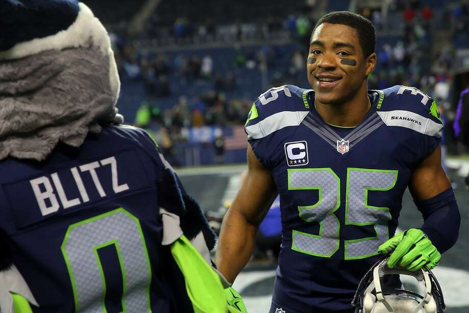 Seahawks player DeShawn Shead smiles as he heads off the field after Seattle's NFL wildcard playoff game against Detroit, Saturday, Jan. 7, 2017, at CenturyLink Field.  (Genna Martin, seattlepi.com) Photo: GENNA MARTIN, SEATTLEPI.COM