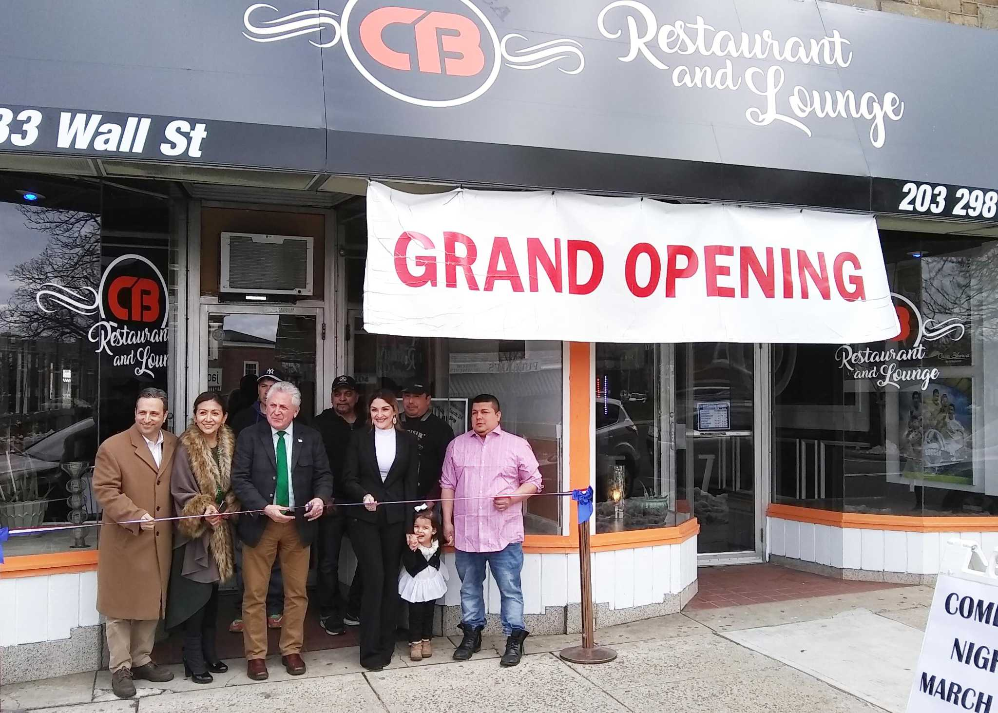 norwalk restaurant holds grand opening on wall street