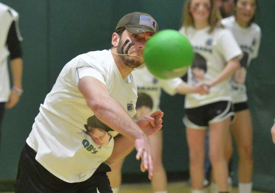 Norwalk High School will hold its ninth annual charity dodgeball tournament from 6-9 p.m. on Wednesday, March 14, in the gym. Photo: Alex Von Kleydorff / Hearst Connecticut Media / Norwalk Hour