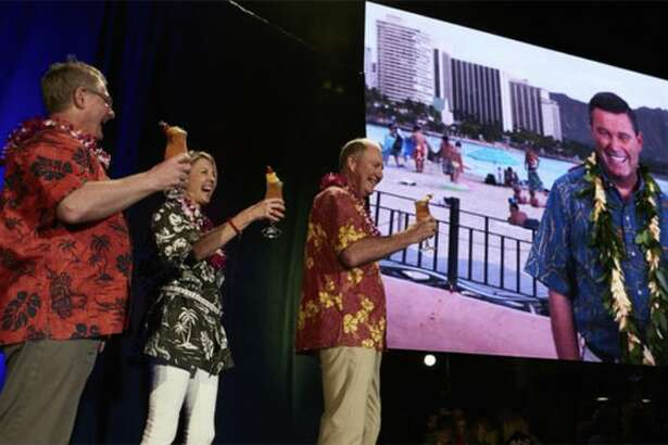 Southwest officials announced new Hawaii service at an employee conference. (Image: Southwest)