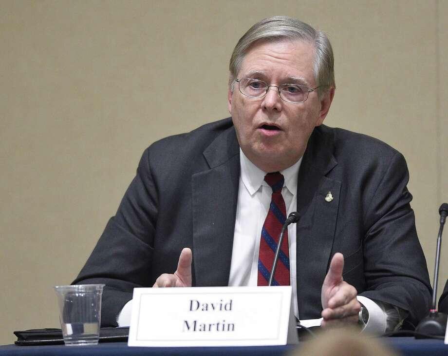 Martin Photo: Matthew Brown / Hearst Connecticut Media / Stamford Advocate