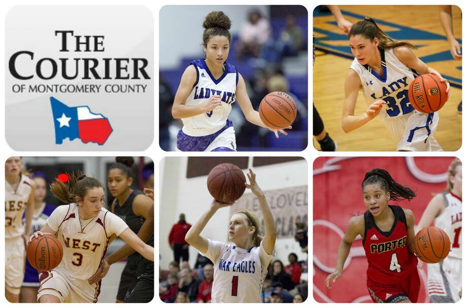 Mersadez Nephew (Willis), Tori Garza (New Caney), Alyssa May (Magnolia West), Nikki Petrakovitz (Oak Ridge) and Mikayla Scott (Porter) are The Courier's nominees for Newcomer of the Year.