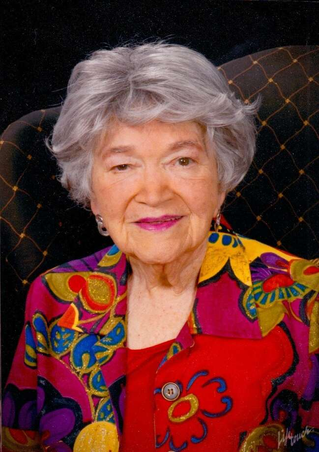 Nelda Drury, who turns 100 in April, founded the San Antonio Folk Dance Festival, which is marking its 60th anniversary. Photo: Courtesy Photo