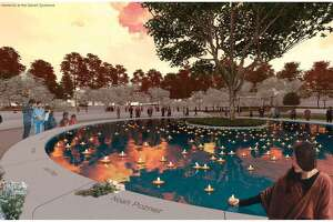 """A memorial to Sandy Hook massacre victims with a sacred sycamore in the center is among the favorite designs by some families who lost loved ones in the 2012 tragedy. """"The Clearing"""" is one of 13 semifinal designs under review which is now open for public input"""